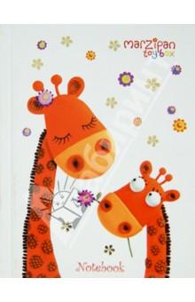 Книга для записей Веселые жирафы, А6, 96 листов (КЗЛФ6961424)Записные книжки средние (формат А6)<br>Книга для записей.<br>Формат: А6<br>Количество листов: 96<br>Бумага: офсет<br>Разлиновка: клетка<br>Книжный переплет<br>