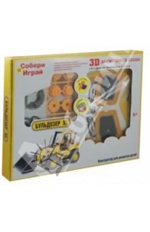 Настольная игра Бульдозер XL. Конструктор 3D Action Puzzle