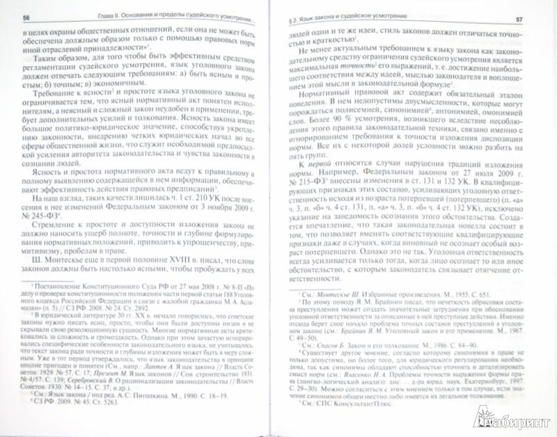 Иллюстрация 1 из 16 для Судейское усмотрение в уголовном праве - Юлия Грачева | Лабиринт - книги. Источник: Лабиринт