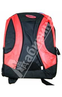 Рюкзак школьный Red and Black (13BP-04-ES)Рюкзаки школьные<br>Рюкзак школьный.<br>1 большое отделение с 1 внутренним отделением.<br>2 накладных сетчатых кармана по бокам.<br>Удобные лямки, позволяющие регулировать длину.<br>Имеет спинку со смягчающей прокладкой.<br>Предназначен для школьников10-16 лет.<br>Размер 40х30 см.<br>Цвет: черный/красный.<br>Сделано в Китае.<br>