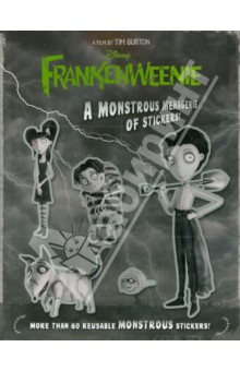 Frankenweenie. A Monstrous Menagerie of Stickers!Литература на иностранном языке для детей<br>Learn about clever and industrious Victor Frankenstein, his dog and best friend, Sparky, Edgar E Gore, Elsa Van Helsing, Weird Girl, and many other inhabitants of New Holland! With over 60 stickers, the Frankenweenie fun will be monstrous!<br>