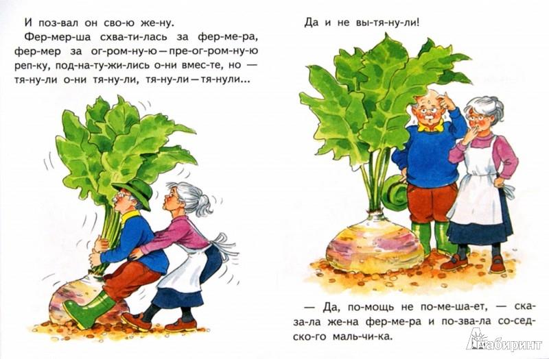 Иллюстрация 1 из 5 для Чудо-репка   Лабиринт - книги. Источник: Лабиринт