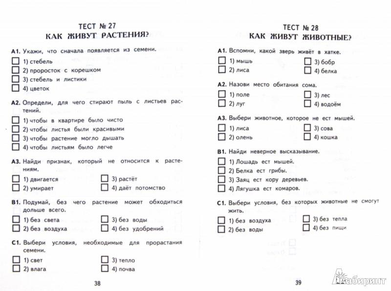 Окружающий мир класс Контрольные измерительные материалы ФГОС  Иллюстрации к Окружающий мир 1 класс Контрольные измерительные материалы ФГОС