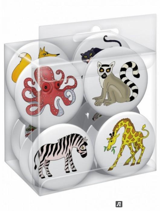 Иллюстрация 1 из 3 для Животные (12 пуговиц) | Лабиринт - сувениры. Источник: Лабиринт