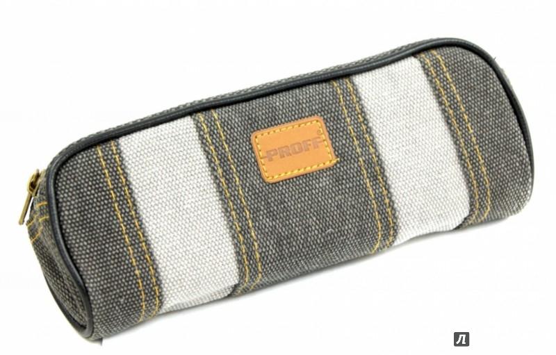 Иллюстрация 1 из 4 для Пенал прямоугольный текстильный (PF-2254-4) | Лабиринт - канцтовы. Источник: Лабиринт