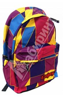 Рюкзак подростковый Enjoy 43*30*18 см (PF201436)Рюкзаки школьные<br>Рюкзак.<br>1 отделение.<br>1 карман на молнии, 2 боковых кармана.<br>Уплотненные лямки.<br>Материал: текстиль, паралон, пластик.<br>Сделано в Китае.<br>