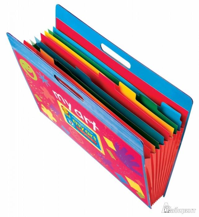 Иллюстрация 1 из 2 для Большая папка для детских рисунков и фото (527W)   Лабиринт - игрушки. Источник: Лабиринт