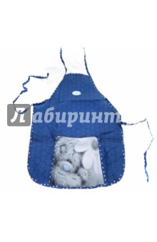 Фартук для труда с карманами и нарукавниками MTY (504016-MY-HS)