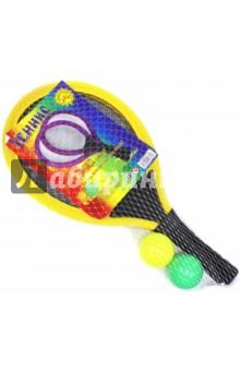 Набор для тенниса: 2 ракетки + 2 мяча (48331) от Лабиринт