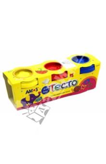 Тесто для лепки с формами, 3 цвета (32200)