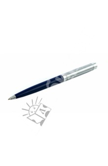 Ручка-автомат шариковая, цвет корпуса синий (A376А1-04)