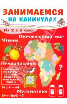Занимаемся на каникулах. Из 2 в 3 классМатематика. 2 класс<br>Каникулы - радостная и беззаботная пора. С этой книгой они пройдут не только весело, но и с пользой. В издании собраны задания по математике, русскому языку, окружающему миру, а также интересные, полезные ребусы и головоломки. Ребенок сможет повторить пройденное во втором классе и подготовиться к новому учебному году.<br>