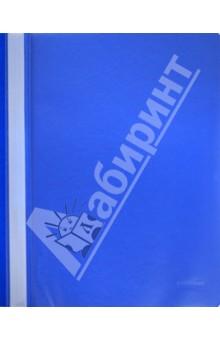 Папка-скоросшиватель A4 темно-синяя (400PF50-04)