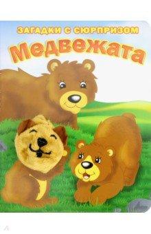 Пушистые мордочки. Медвежата. Истории с загадкамиСтихи и загадки для малышей<br>Книжка - с сюрпризом! Милые и добрые истории о животных-малышах оживают с мягкой игрушкой для пальчика.<br>
