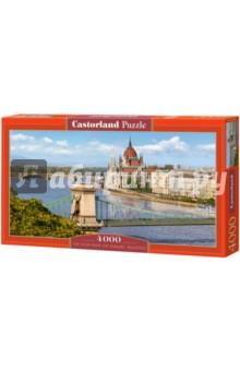"Puzzle-4000 ""Вид на Дунай, Будапешт"" (С-400126)"
