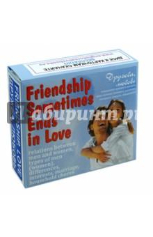 """Английский язык. Набор цветных карточек, часть А """"Дружба, любовь"""""""