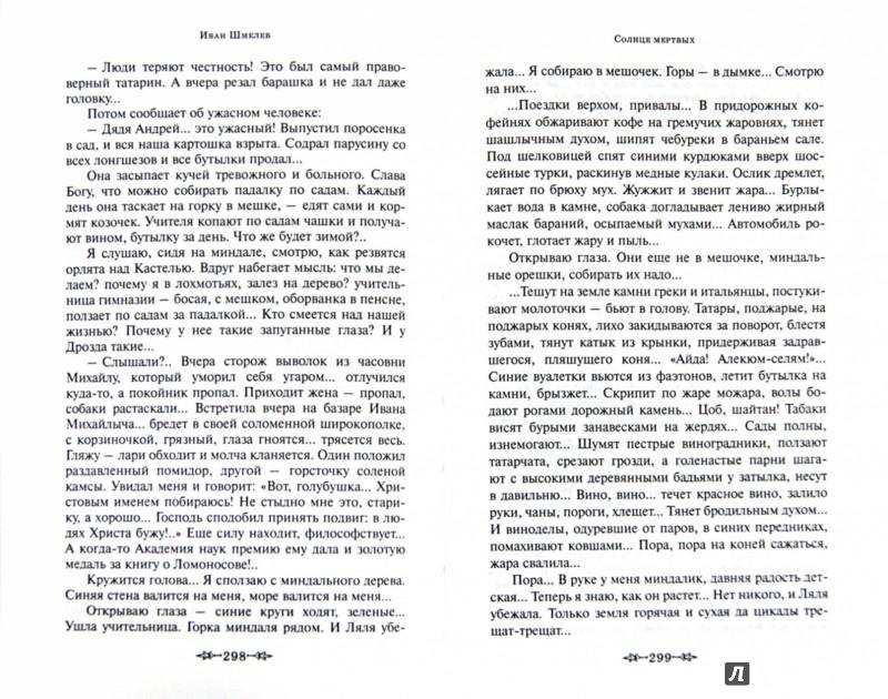 Иллюстрация 1 из 17 для Солнце мертвых - Иван Шмелев | Лабиринт - книги. Источник: Лабиринт