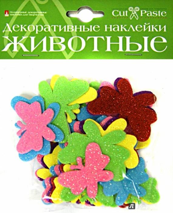 """Иллюстрация 1 из 20 для Декоративные наклейки """"Животные"""", в ассортименте (2-023)   Лабиринт - игрушки. Источник: Лабиринт"""