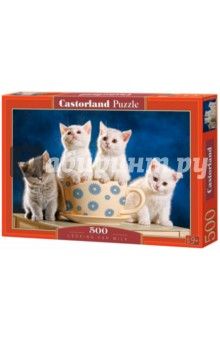 "Puzzle-500 ""4 котенка"" (B-52042)"