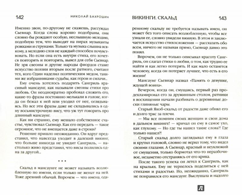 Иллюстрация 1 из 5 для Викинги. Скальд - Николай Бахрошин | Лабиринт - книги. Источник: Лабиринт