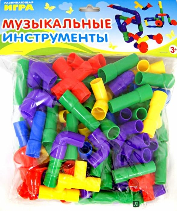Иллюстрация 1 из 4 для Музыкальные инструменты. 60 деталей   Лабиринт - игрушки. Источник: Лабиринт