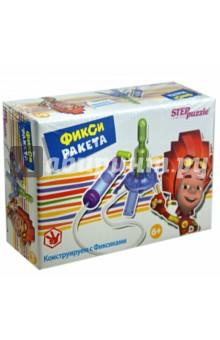 Развивающая игра Фикси - ракета (76162)Наборы для опытов<br>Игра-конструктор Фикси - ракета из серии Конструируем с Фиксиками дает начальное представление об атмосфере и давлении газа. <br>Собирая модель ракеты, ребенок получает навык конструирования, учиться читать и понимать чертежи, развивает мелкую моторику, внимание, память.<br>Для детей от 6-ти лет.<br>Производство: Россия<br>
