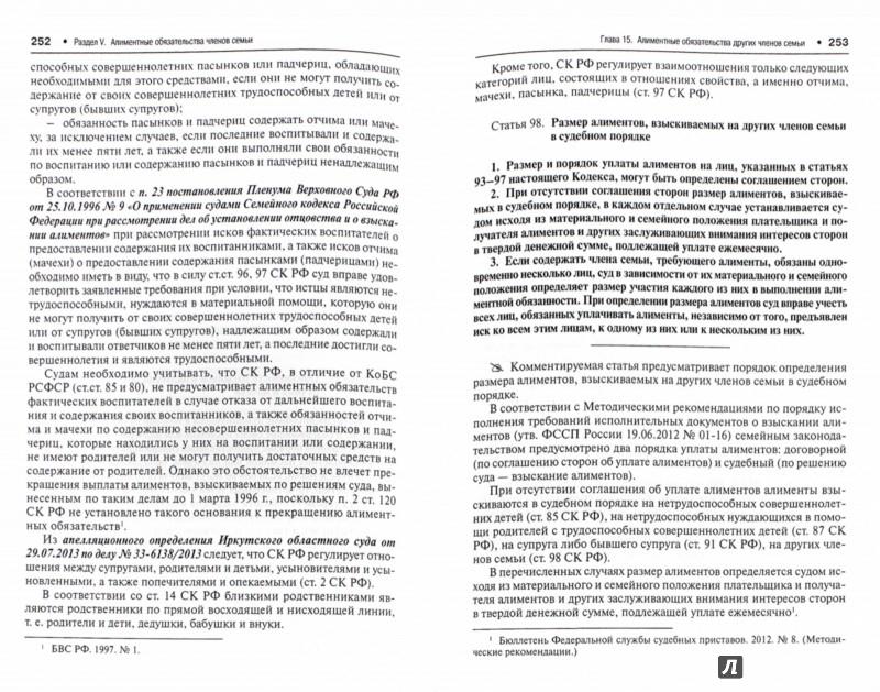 Иллюстрация 1 из 4 для Комментарий к Семейному кодексу Российской Федерации. Постатейный научно-практический - Беспалов, Егорова, Гордеюк | Лабиринт - книги. Источник: Лабиринт