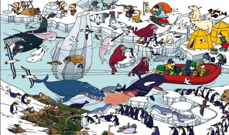 Иллюстрация 1 из 25 для Океаны. Найди и покажи - Тьерри Лаваль | Лабиринт - книги. Источник: Лабиринт