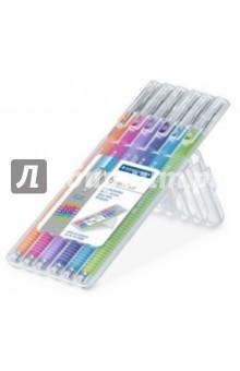 Шариковая ручка Triplus Ball (толщина ХВ, 6 штук) STAEDTLER