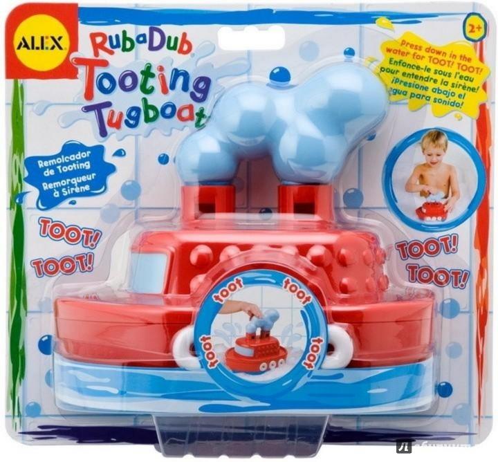 """Иллюстрация 1 из 2 для Игрушка для ванны """"Гудящий пароходик"""" (826)   Лабиринт - игрушки. Источник: Лабиринт"""
