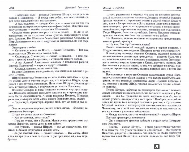 Иллюстрация 1 из 21 для Жизнь и судьба - Василий Гроссман | Лабиринт - книги. Источник: Лабиринт