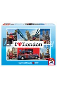 "Пазл-1000 ""Я люблю Лондон"" (59283) Schmidt"