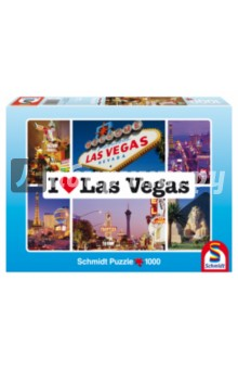 """Пазл-1000 """"Я люблю Лас Вегас"""" (59285) Schmidt"""
