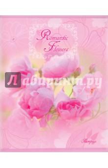 """Тетрадь """"Летние цветы"""" (в ассортименте,  48 листов, линейка) (ТЛ484167)"""