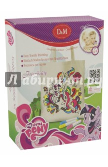 Набор для росписи сумочки My Little Pony. Дружба (54169)