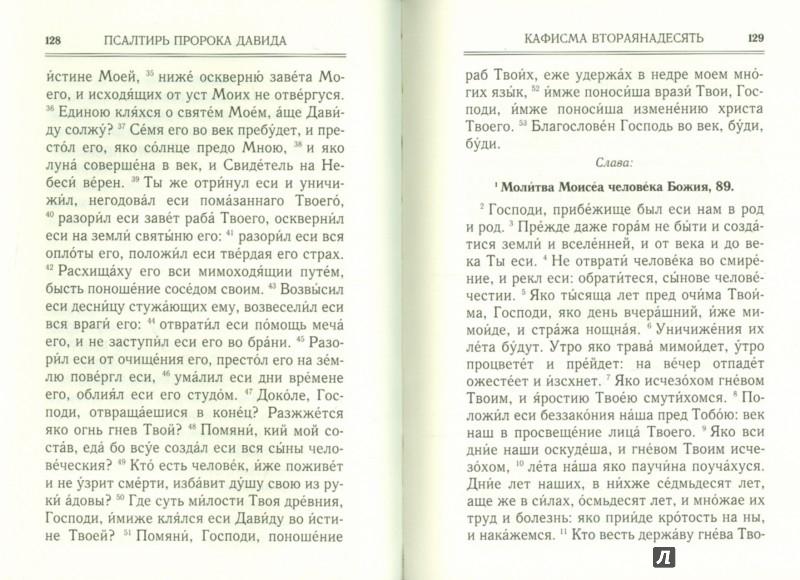 Иллюстрация 1 из 10 для Псалтирь   Лабиринт - книги. Источник: Лабиринт