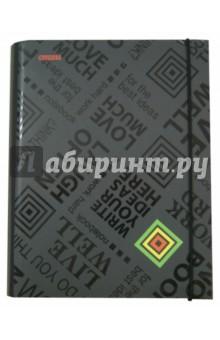 Тетрадь на кольцах. Black Tie. Marker. А5, 120 листов (М-810512С) Виктория Арте