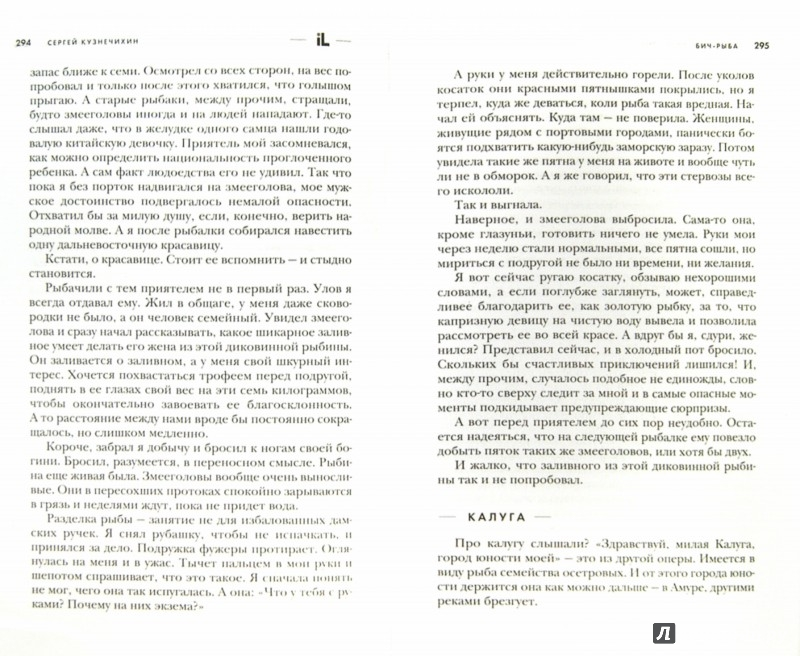 Иллюстрация 1 из 6 для БИЧ-Рыба - Сергей Кузнечихин   Лабиринт - книги. Источник: Лабиринт