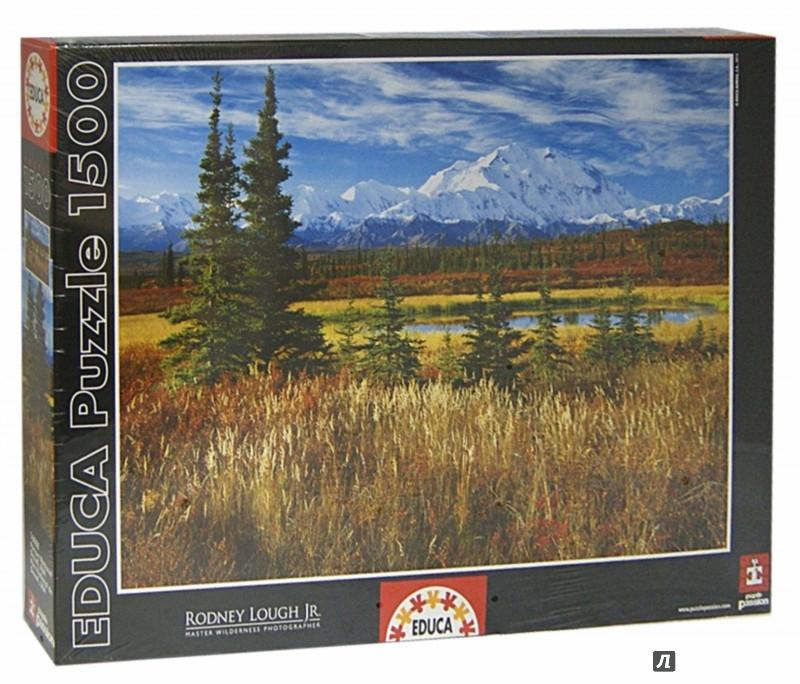 """Иллюстрация 1 из 2 для Пазл-1500 """"Национальный парк Денали, США"""" (16008)   Лабиринт - игрушки. Источник: Лабиринт"""