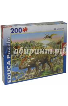 """Пазл-200 """"Динозавры"""" (15264)"""