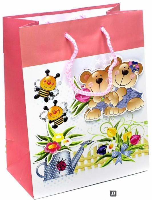 Иллюстрация 1 из 3 для Пакет подарочный ламинированный 180х227х100 (M-3D-003) | Лабиринт - сувениры. Источник: Лабиринт