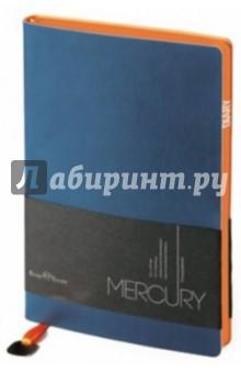 """Ежедневник недатированный """"Mercury"""" (А5, темно-синий) (3-435/08) Bruno Visconti"""