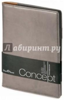 """Еженедельник недатированный """"Concept"""" (А5, серый) (3-322/205) Bruno Visconti"""