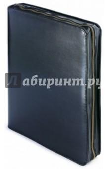 """Папка с кольцевым зажимом """"Bosforo"""" (с блокнотом, 60 листов, черная) (3-012/139) Bruno Visconti"""