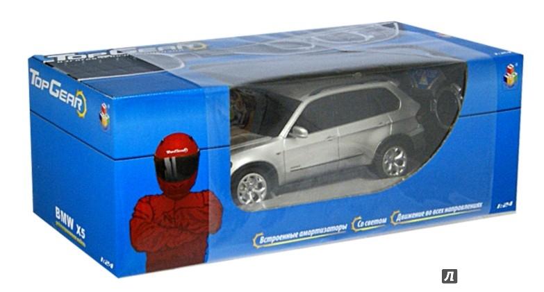 Иллюстрация 1 из 2 для Top Gear радиоуправление BMW X5 1:24 (Т56671) | Лабиринт - игрушки. Источник: Лабиринт