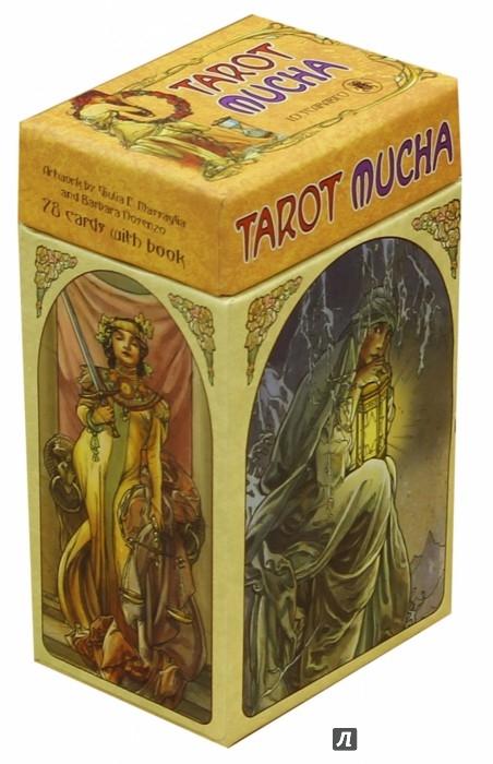 Иллюстрация 1 из 34 для Таро Альфонса Мухи (буклет + 78 карт) | Лабиринт - книги. Источник: Лабиринт