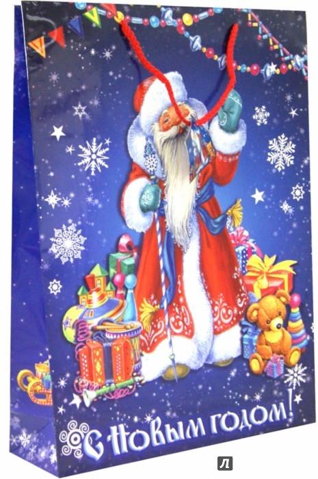 Иллюстрация 1 из 4 для Пакет бумажный новогодний (33х46х10 см) (35246) | Лабиринт - сувениры. Источник: Лабиринт