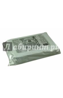 Пластилин скульптурный (500 г, мягкий серый) (ПСС500М)