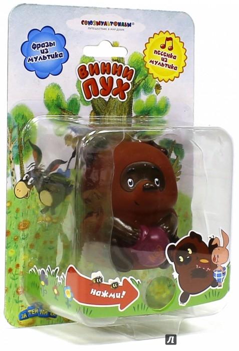 """Иллюстрация 1 из 4 для Пластизоль """"Винни-Пух"""" , со звуком (GT7776)   Лабиринт - игрушки. Источник: Лабиринт"""