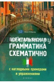 Вся итальянская грамматика схематично с наглядными примерами и упражнениями